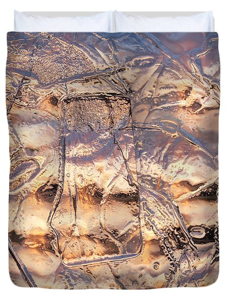 Cool Ice Duvet Cover
