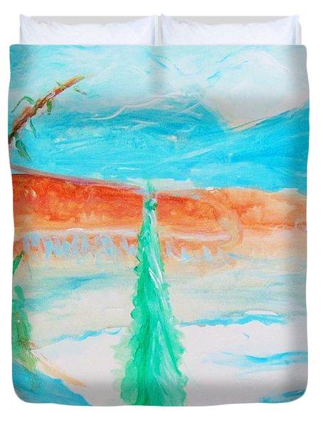 Cool Landscape Duvet Cover