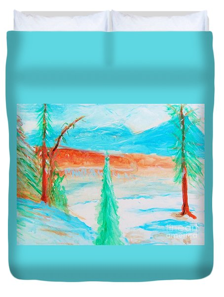 Cool Landscape Duvet Cover