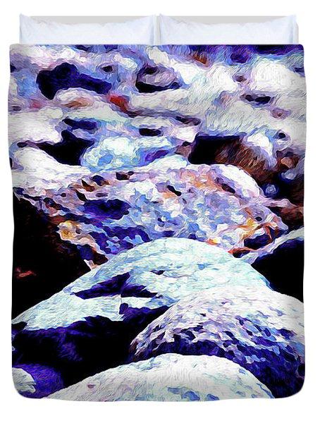 Cool Rocks- Duvet Cover