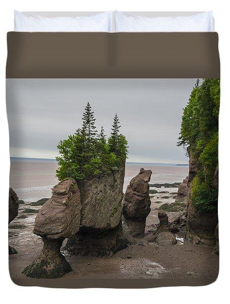 Cool Rocks Duvet Cover