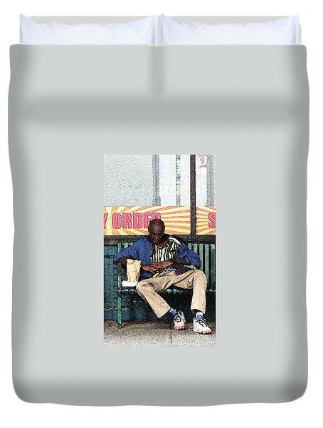 Cool Snap Duvet Cover by Joe Jake Pratt