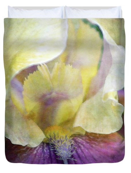 Cool Toned Purple Iris 0319 Idp_3 Duvet Cover