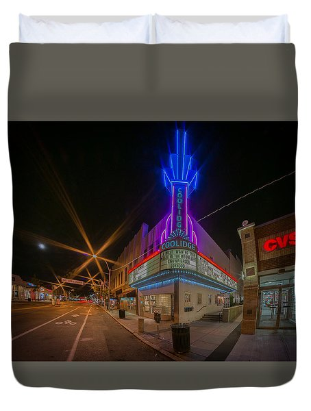 Coolidge Corner  Duvet Cover
