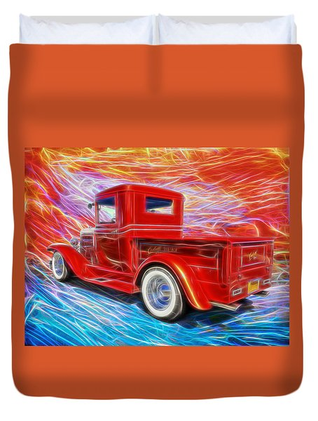 Coolville  Duvet Cover