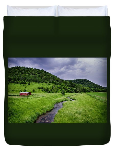 Coon Valley Duvet Cover
