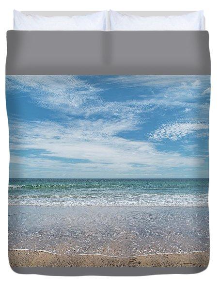 Coonah Waves Duvet Cover