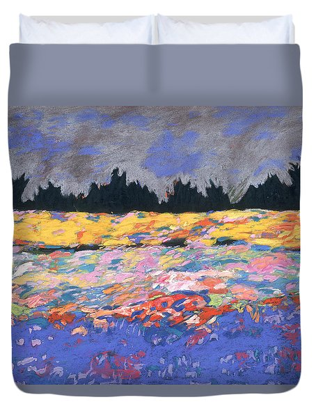cooney sunset I Duvet Cover