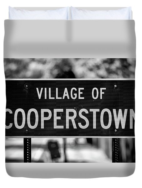 Cooperstown Duvet Cover