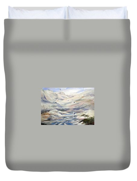 Coorong, South Australia. Duvet Cover