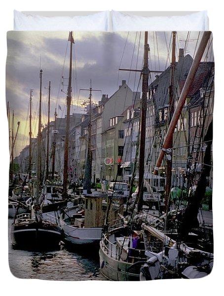 Copenhagen Quay Duvet Cover