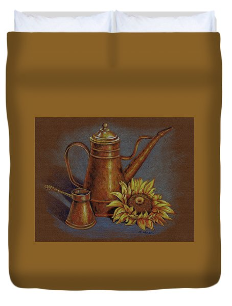 Copper Kettle Duvet Cover