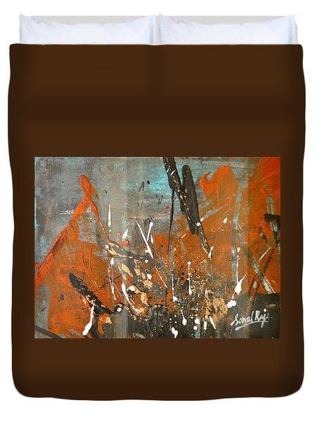 Copper Moon Duvet Cover