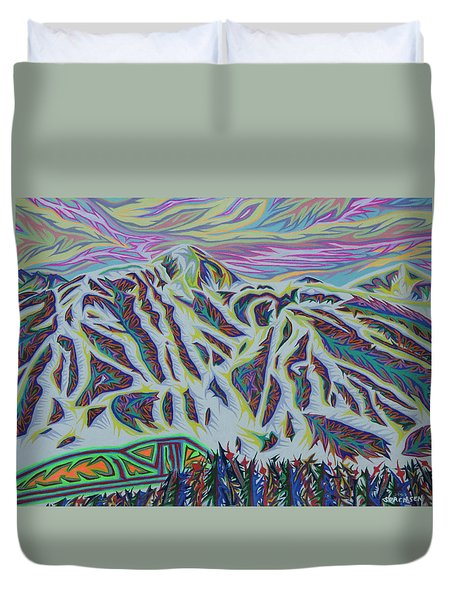 Copper Mountain Duvet Cover