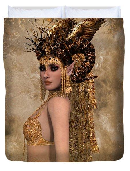 Copper Queen Duvet Cover