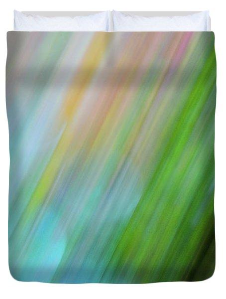 Copper Rainbow Duvet Cover