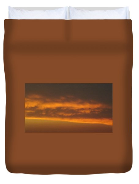 Copper Sky  Ozarks Duvet Cover