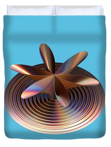 Copper Tones Duvet Cover