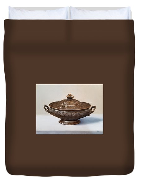 Copper Vessel Duvet Cover