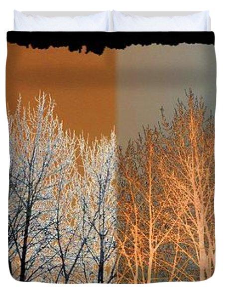 Coppertone Fusion Duvet Cover