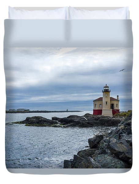 Coquille Lighthouse IIi Duvet Cover
