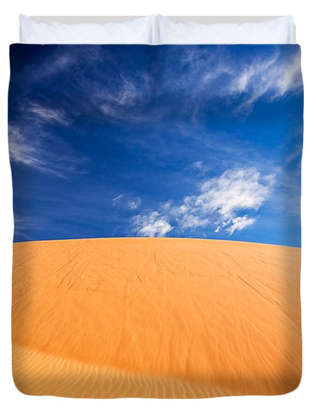 Coral Pink Sand Dunes State Park, Kanab, Utah Duvet Cover