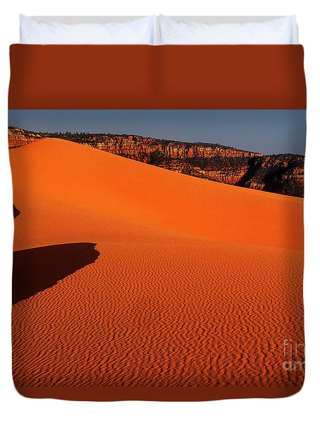 Coral Pink Sand Dunes State Park Utah Duvet Cover