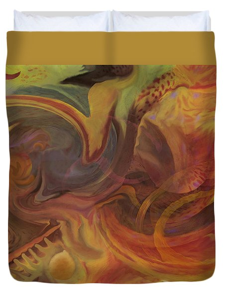 Coral Sea Duvet Cover