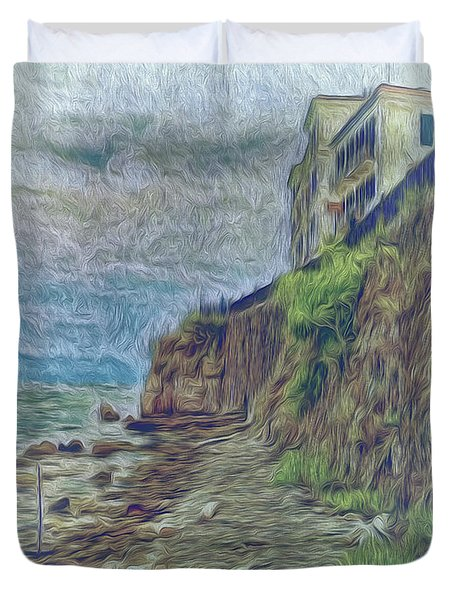 Corfu 33 - Corfu Rocks Duvet Cover