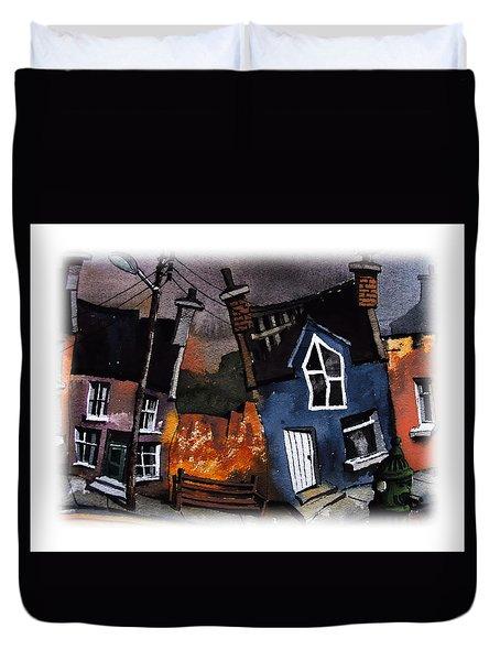 Cork Ardgroom Wobblies Duvet Cover