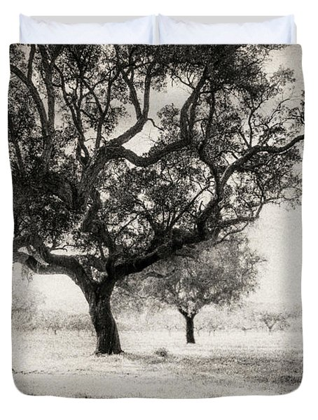 Cork Trees Duvet Cover by Celso Bressan