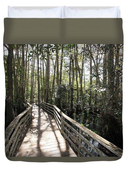Corkscrew Swamp 697 Duvet Cover