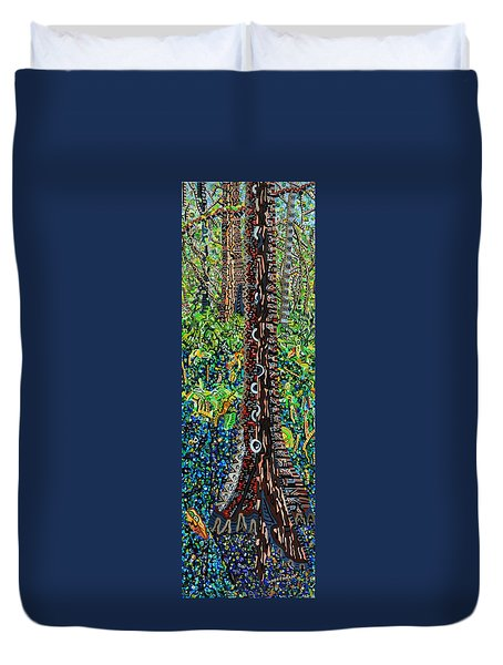 Corkscrew Swamp Sanctuary 2 Duvet Cover by Micah Mullen