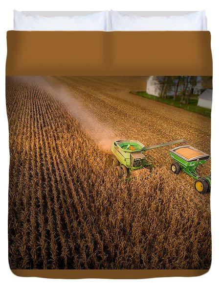 Corn Dust Duvet Cover