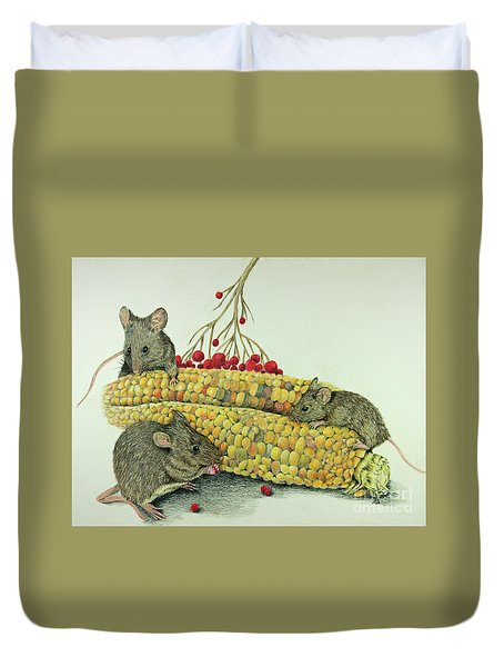 Corn Meal Duvet Cover