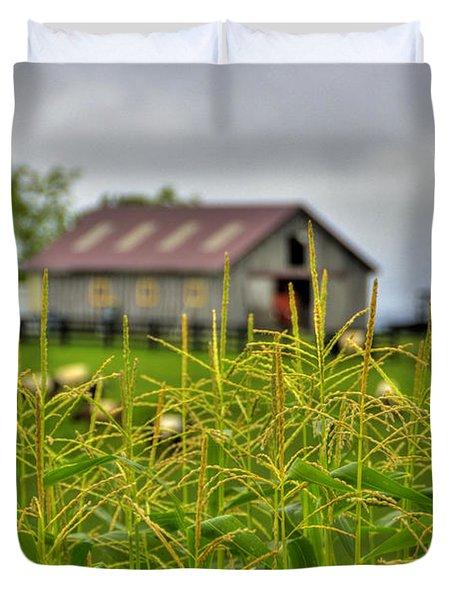 Corn Tops Duvet Cover