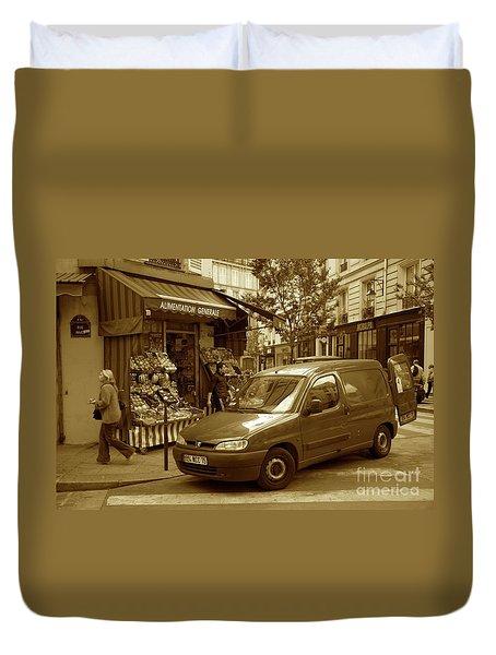 Corner Delivery Duvet Cover