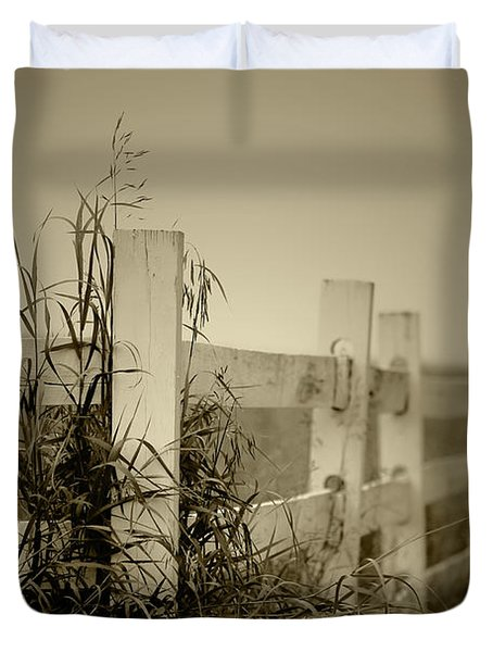 Corner Of The Farm Duvet Cover