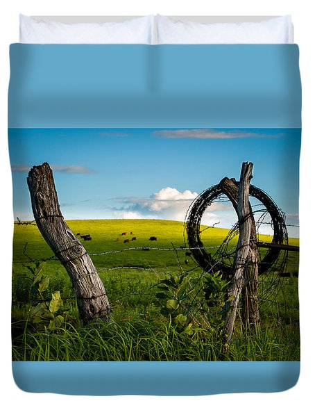Corner Post Duvet Cover