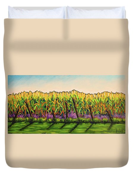 Cornfield Color Duvet Cover