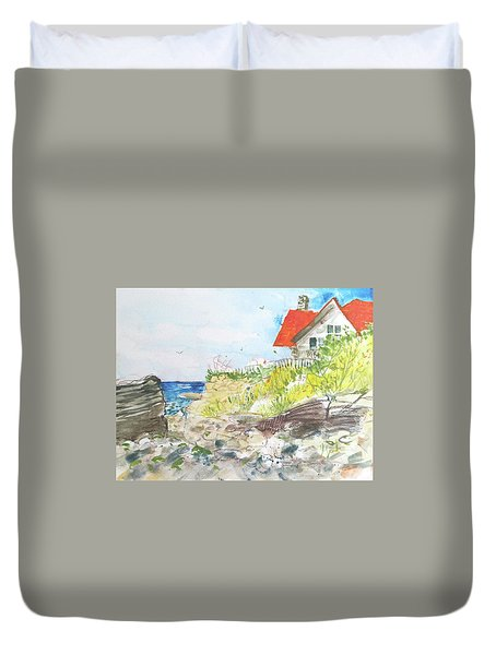 Cornfield Point Old Saybrook Duvet Cover