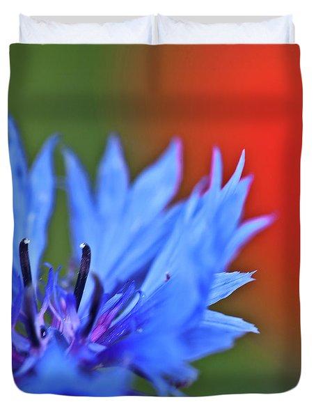 Cornflower Duvet Cover by Heiko Koehrer-Wagner