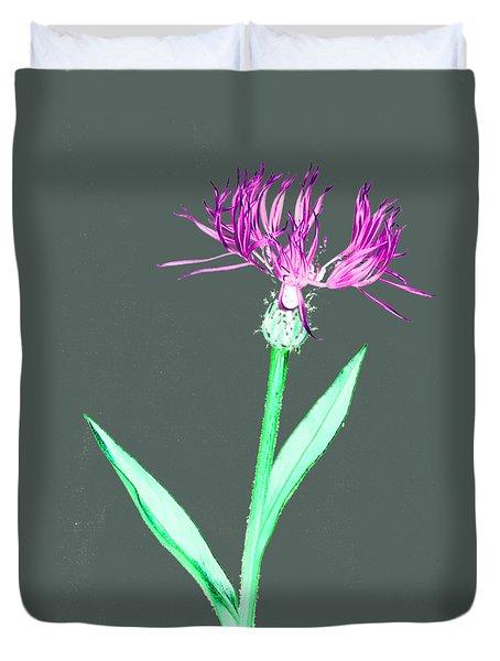 Cornflower3 T-shirt Duvet Cover