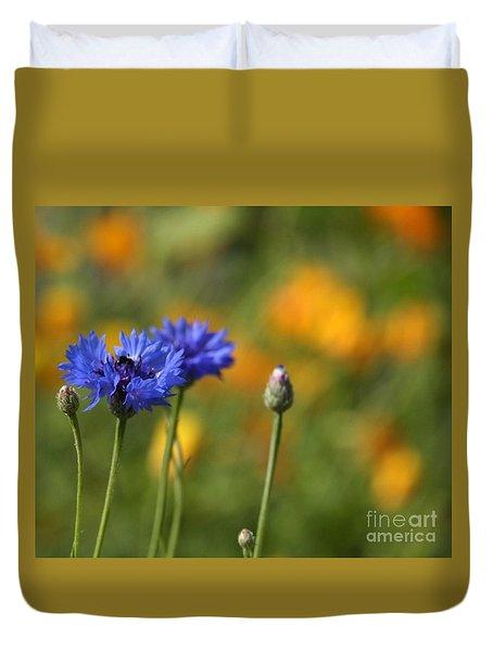 Cornflowers -2- Duvet Cover