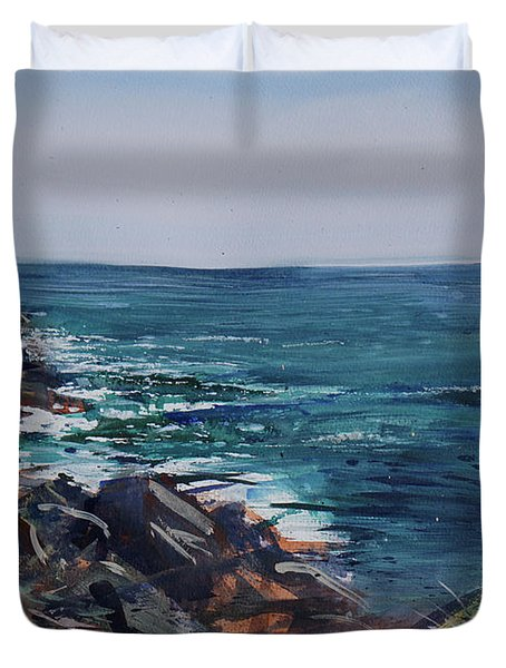 Cornish Clffs Duvet Cover