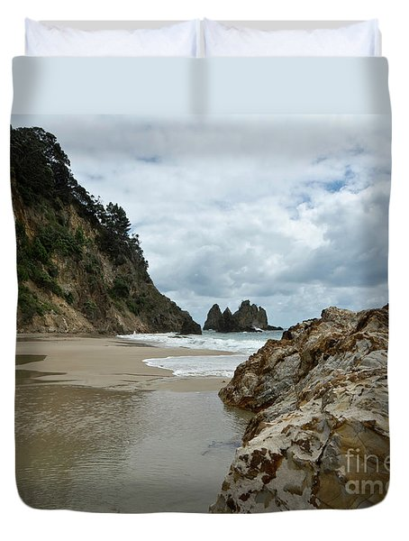 Coromandel, New Zealand Duvet Cover
