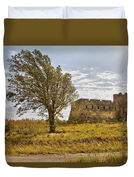 Coronado Hights Lookout  Duvet Cover by Betty Pauwels