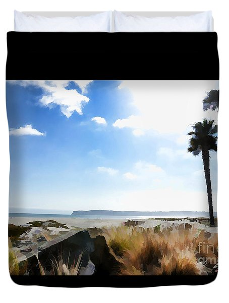 Coronado - Digital Painting Duvet Cover