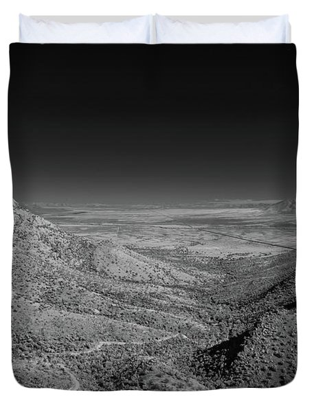Coronado National Memorial In Infrared Duvet Cover