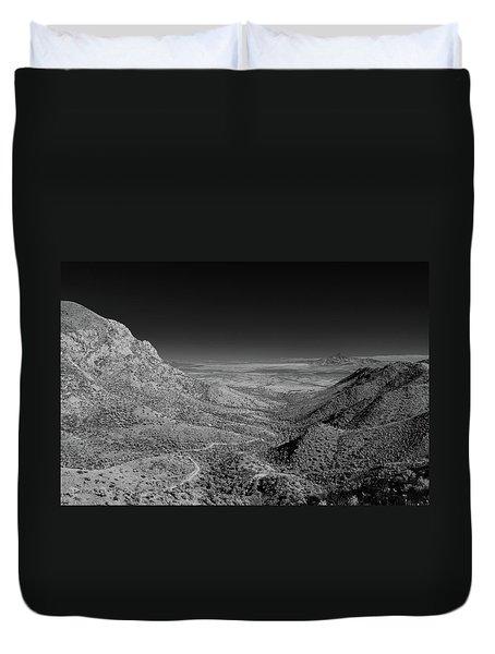 Coronado National Memorial In Infrared Duvet Cover